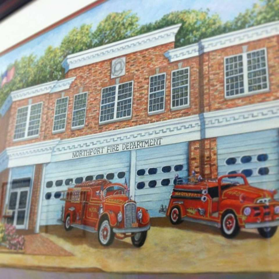 This is the painting of the #Northport Fire
