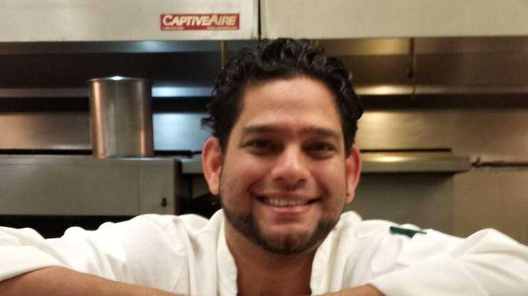 Antonio Guillen is the new executive chef at