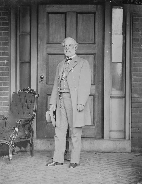 Gen. Robert E. Lee, photographed in 1865 by