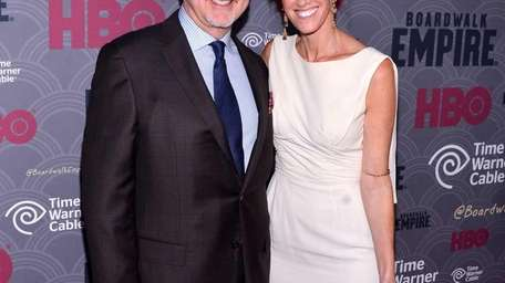 Writer/ Producer Terence Winter and Rachel Winter attend
