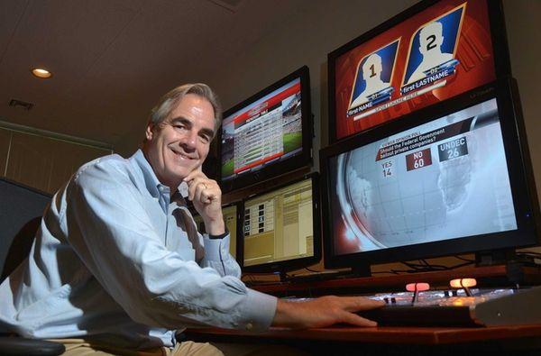 ChyronHego CEO Michael Wellesley-Wesley, who oversaw the Melville