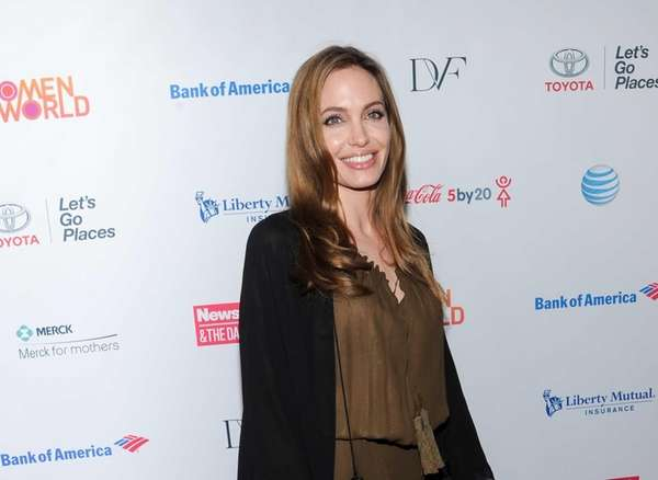 Actress Angelina Jolie attends the 4th Annual Women