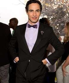 "Designer Zac Posen attends the ""Project Runway"" fashion"