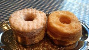 Crumbs Bake Shop presents its crumbnut in two