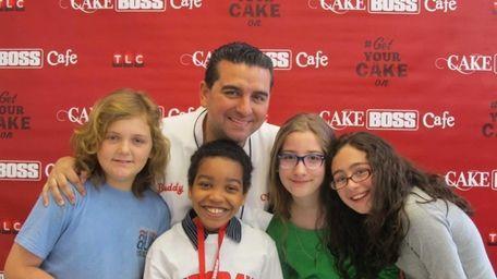Kidsday reporters John O'Brien, Robert Jean-Gilles, Natalie Furman