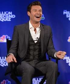 Ryan Seacrest attends quot;The Million Second Quizquot; Cocktail