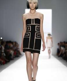 The Carmen Marc Valvo spring 2014 collection is