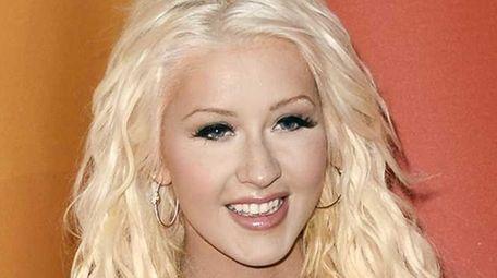 Christina Aguilera at NBC's TCA Summer press tour