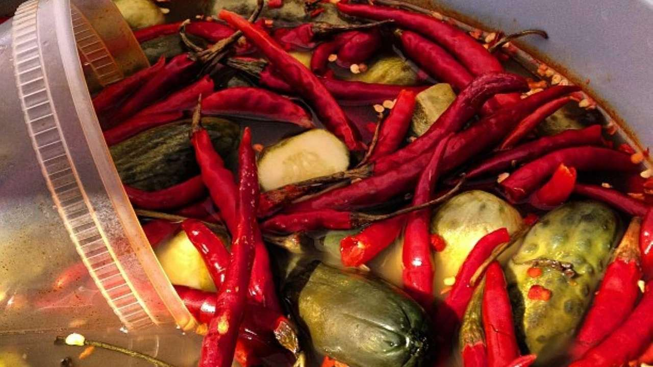 #Spicy #Sour #Pickles from Horman's in #GlenCove at