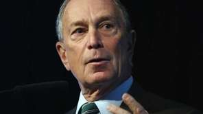 Mayor Michael Bloomberg accused Bill de Blasio, the