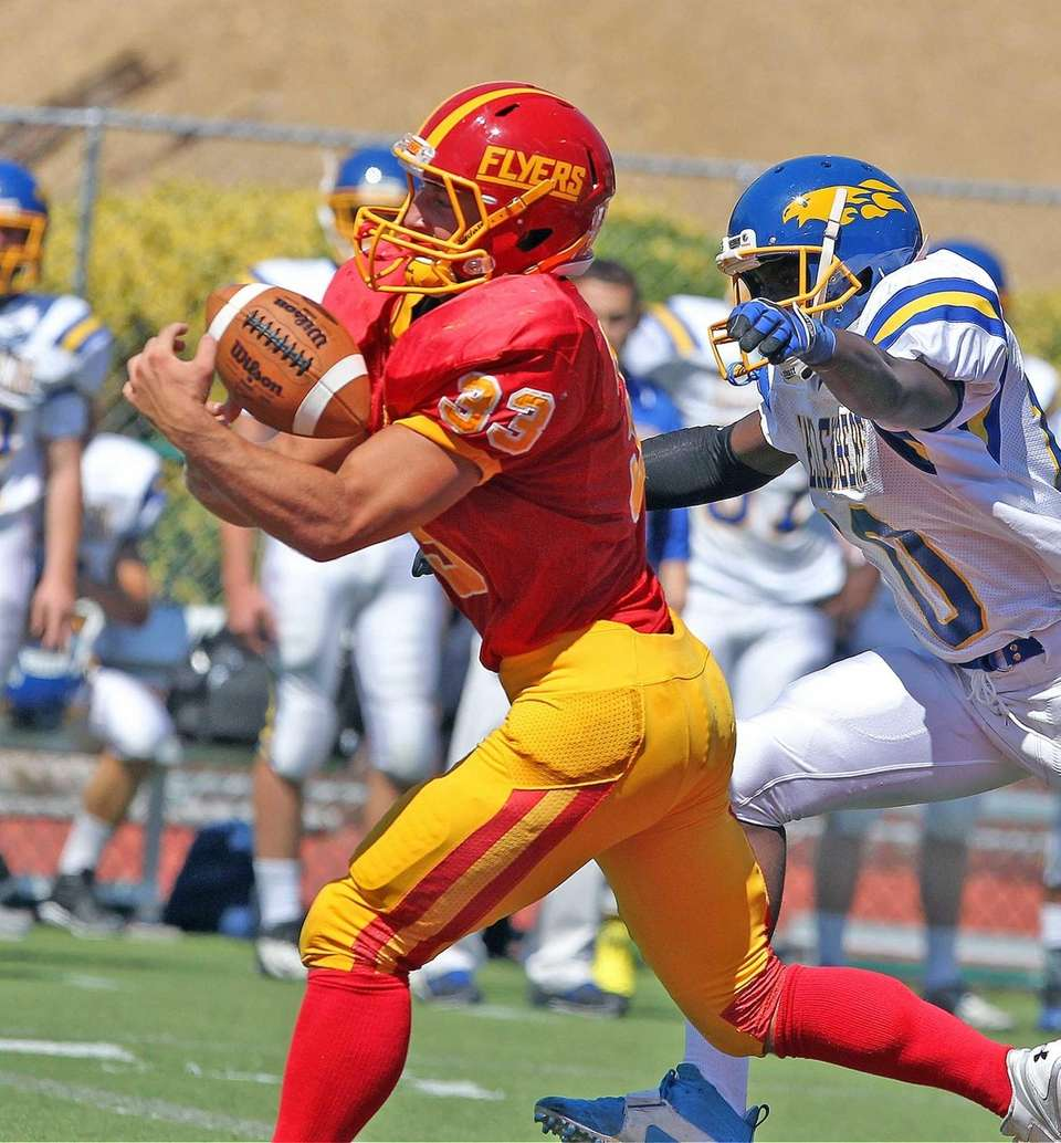 Chaminade's Robert Speranza Jr. manages to get control