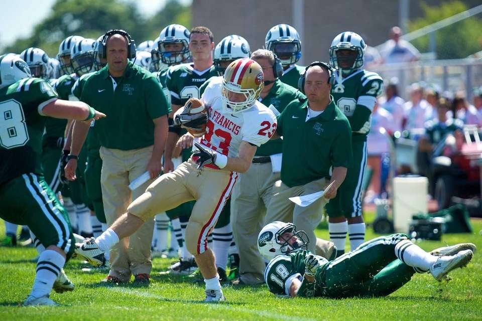 St. Francis (Buffalo) receiver Elliot D. Buccieri (no.