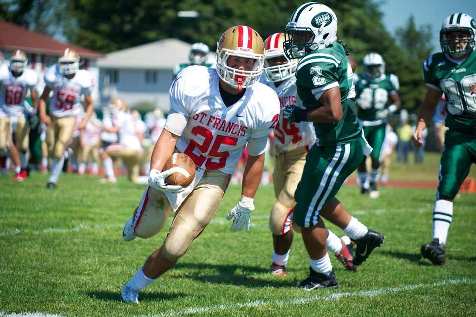 St. Francis (Buffalo) running back Brendon L. Misterman