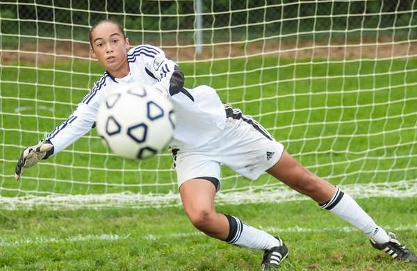 Longwood High School girls soccer player Phallon Tullis-Joyce