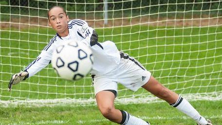 Longwood High School girls soccer player Phallon Tullis-Joyce