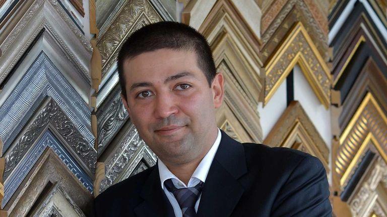 Rashid Jalili, chief operating officer of Abbot Art