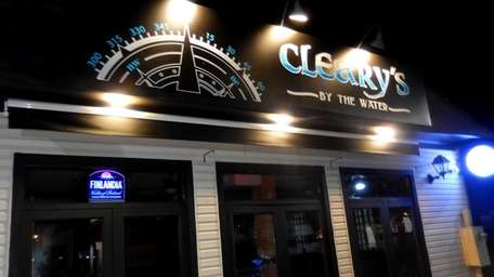 Cleary's By The Water on Freeport's Nautical Mile.