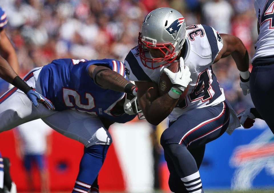 New England Patriots running back Shane Vereen is
