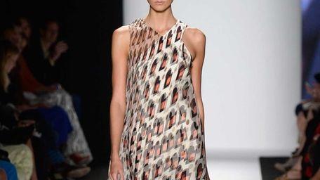 Model Karlie Kloss walks the runway at the