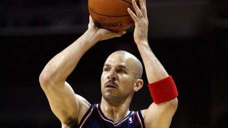 Jason Kidd as a Net in 2008. (Getty)