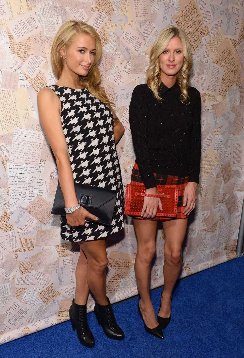 Paris and Nicky Hilton attend the Alice +