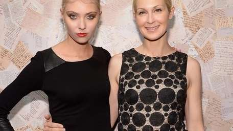 Taylor Momsen, left, and Kelly Rutherford. (Getty)