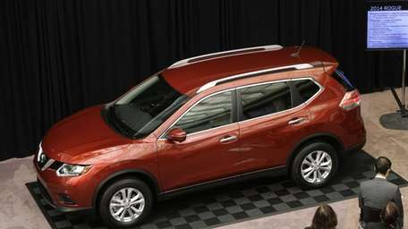 The Nissan 2014 Rogue is unveiled in Farmington