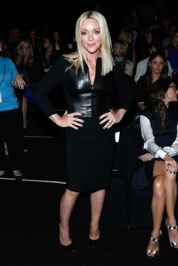 Actress Jane Krakowski attends the Kaufmanfranco fashion show