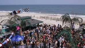 Neptune Beach Club in East Quogue. Southampton Town