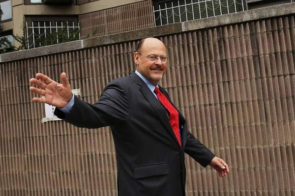 Republican mayoral candidate Joe Lhota, former CEO of