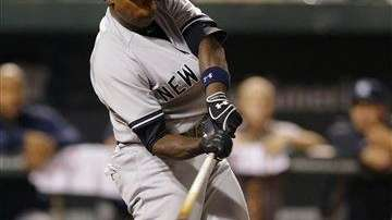 Yankees' Alfonso Soriano hits a two-run home run