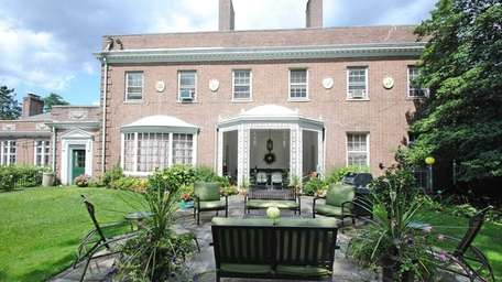 A 21-room brick mansion in Oyster Bay Cove,