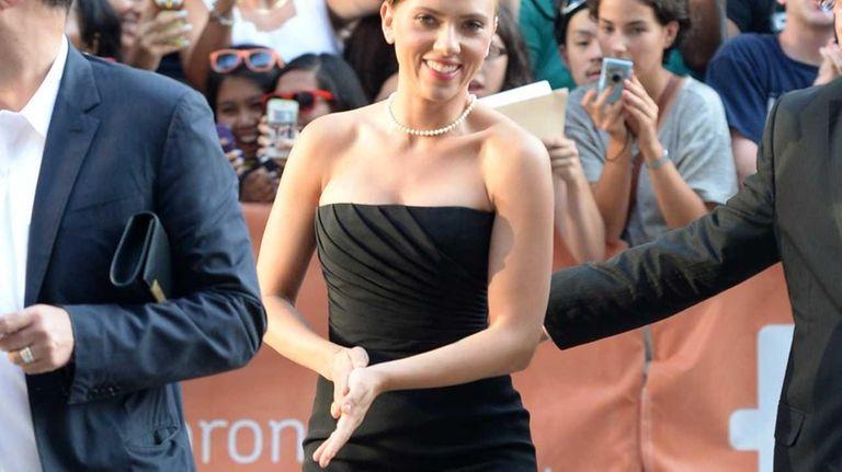 Scarlett Johansson arrives at the