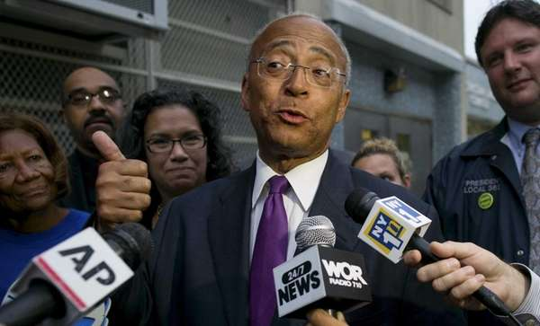 New York City Democratic mayoral candidate Bill Thompson