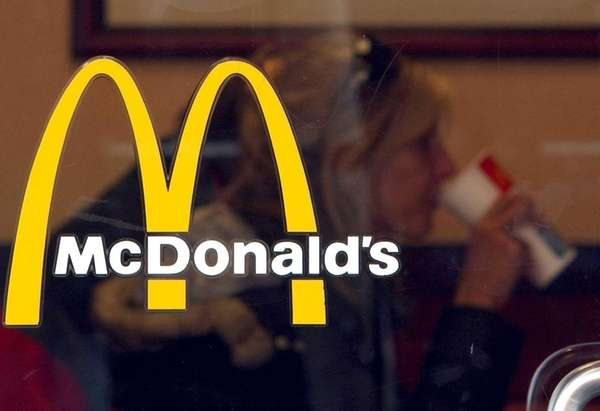 Fast-food giant McDonald's is testing an app that