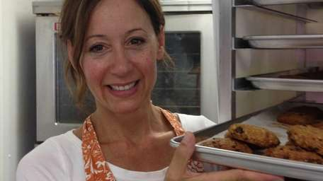 Lisa Harris, 45, of Northport, invented a healthy