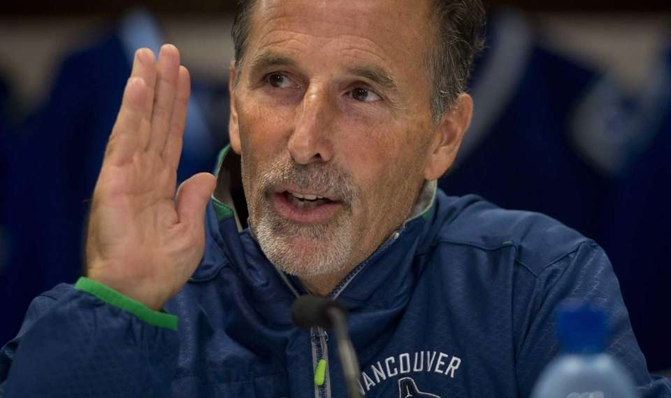 Vancouver Canucks NHL hockey head coach John Tortorella