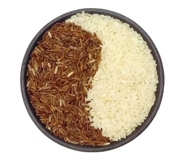 White rice is a refined grain, which means