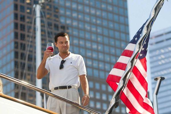 Nope, not Jay Gatsby: Leonardo DiCaprio plays Jordan
