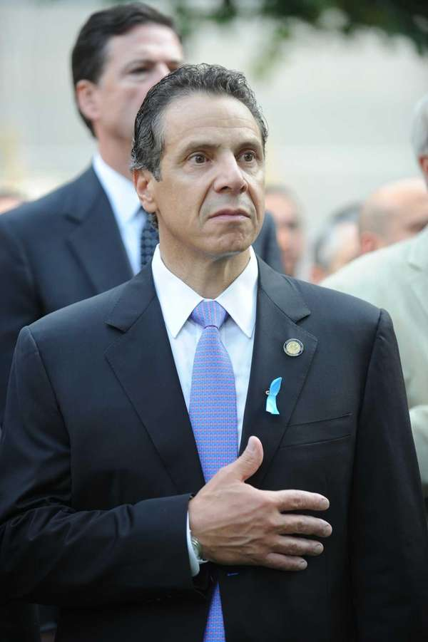 New York Gov. Andrew Cuomo attends the 12th