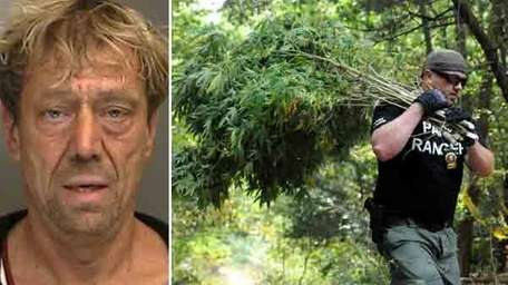 Mark Kern, 54, of Kings Park, was arrested