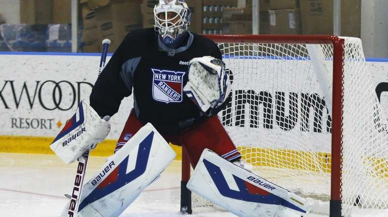 Henrik Lundqvist On Contract Extension Still Talking Newsday