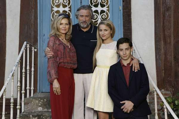 From left, Michelle Pfeiffer, Robert DeNiro, Dianna Agron