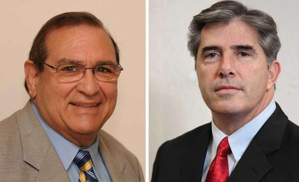 Huntington Supervisor Frank Petrone will face Councilman Gene