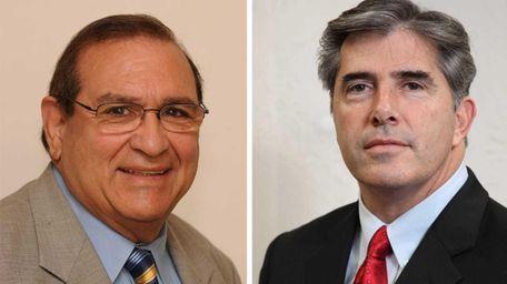 Huntington Supervisor Frank Petrone will face Councilman Gene