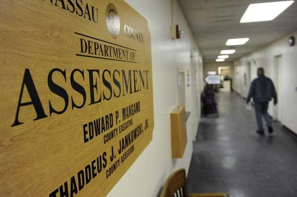 The Nassau County Assessor's office in Mineola.