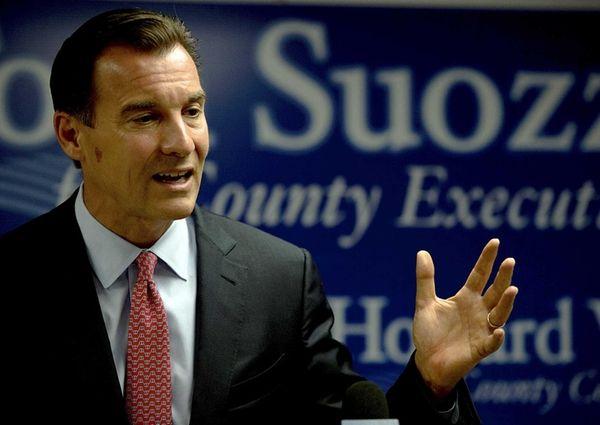 Nassau County Executive Democratic candidate Tom Suozzi at