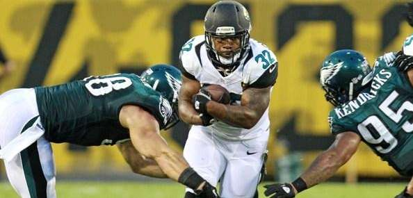 Maurice Jones-Drew #32 of the Jacksonville Jaguars