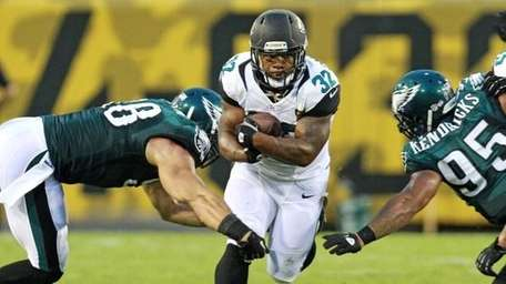 Maurice Jones-Drew #32 of the Jacksonville Jaguars