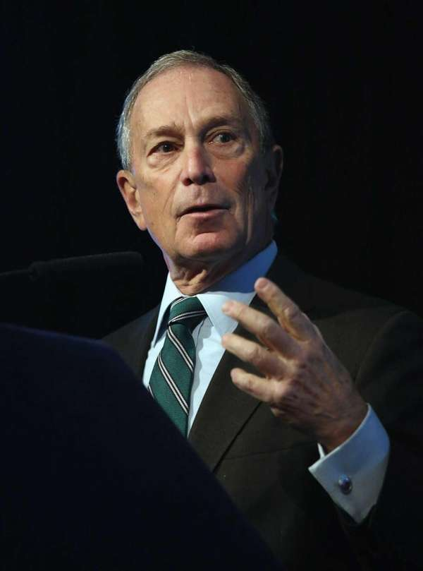 Mayor Michael Bloomberg, whose once-sky-high popularity has tanked